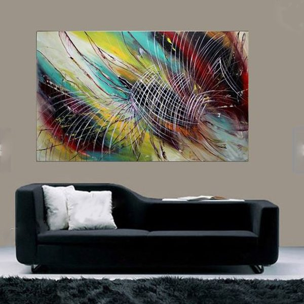 modern abstract painting