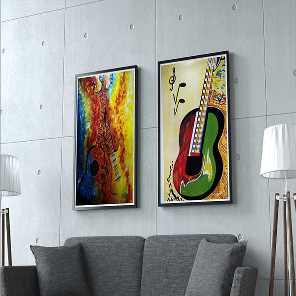 guitar wall art